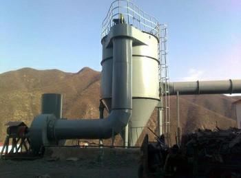 ZC机械回转反吹扁袋除尘器